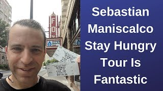 Sebastian Maniscalco Stay Hungry tour Is Fantastic