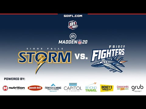 Sioux Falls Storm vs. Frisco Fighters (IN MADDEN 2020!)