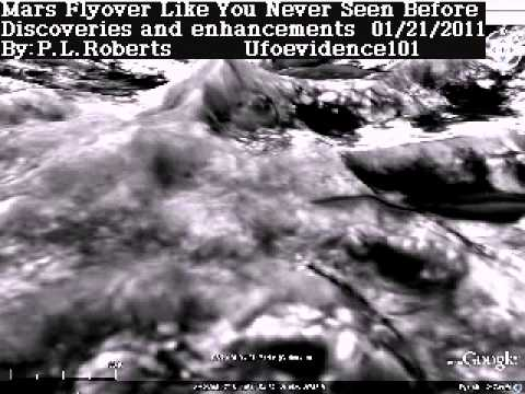 Mars 3 D Flyover - Shows Signs Of Life - Expanding Your Awareness - See 4 Yourself