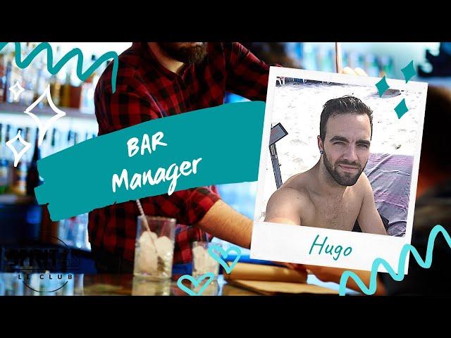 Hugo - Bar Manager - Travailler au Club Med
