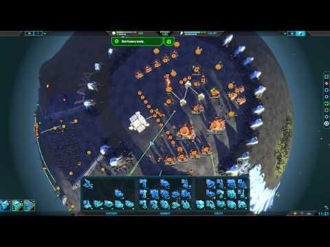 Planetary Annihilation 2v2 Team Battles : 2.0 Vs Normal Eco