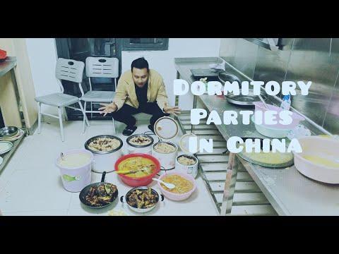 Dormitory Parties in China  Bangladeshi Students   JUST  Zhenjiang City  Vlog-2 