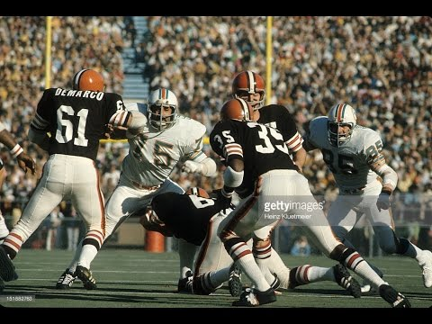 1972 Browns at Dolphins Playoff Game