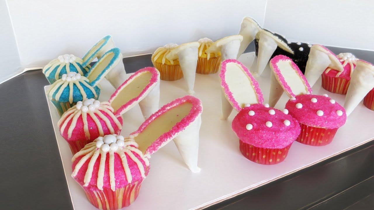 High Heel Cupcakes Youtube