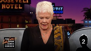 Dame Judi Dench Masters The Dame Judi Dench Challenge