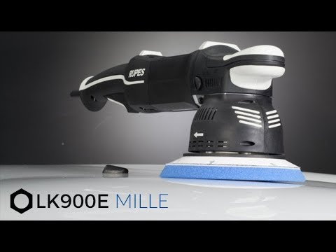 Rupes Product Training: E3 - LK900E Mille Gear Driven Polisher