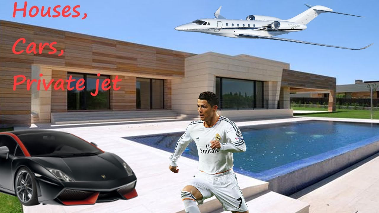 Cristiano Ronaldo Houses Cars And Private Jet Amazing
