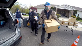 New Jersey American Legion helps their community during COVID-19 pandemic