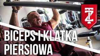 Trening klatki piersiowej na masę   Trening bicepsów - Papaj Robi Masę odc. 01 (Zapytaj Trenera)