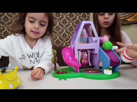 Thumbnail: Peppa Pig Weebles Wobbily Playhouse /Unboxing Toys for Kids Emily Tube