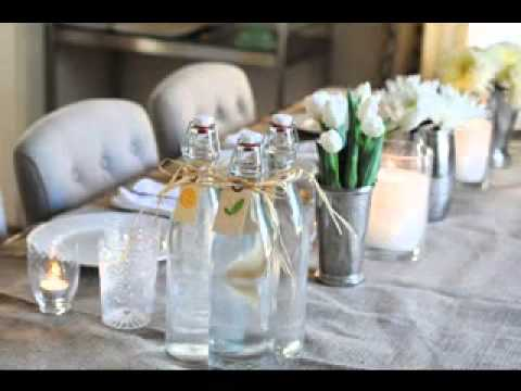 diy dinner party decorating ideas - youtube