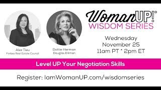 Wisdom Session * Level UP Your Negotiation Skills