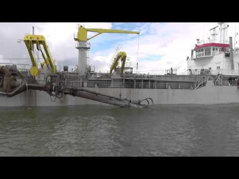 Hopper Dredger PINTA. Port Parnu Estonia