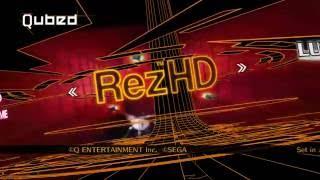 Rez HD Original Mode Full Game Play Xbox 360