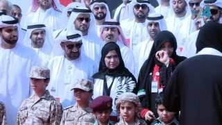 طلاب أبوظبي يحتفلون بيوم العلم ويرتدون الزي العسكري