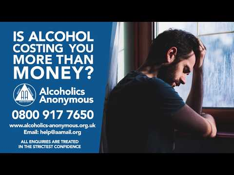 Alcoholics Anonymous AA Manx Radio Isle of Man radio campaign alcohol problem stop drinking now
