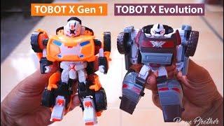 Perbedaan TOBOT X Generasi Pertama & TOBOT X EVOLUTION | Mainan Mobil Robot | Tobot Bahasa Indonesia