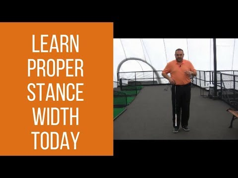 Learn Proper Golf Stance Width Today