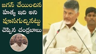 Chandrababu Naidu Sensational Comments On YS Jagan Over Vivekananda Reddy Incident | Manastars