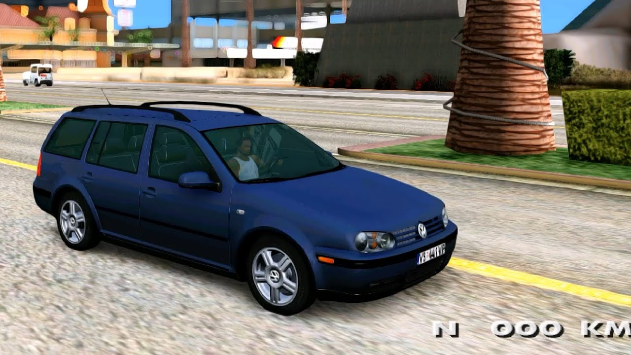 Volkswagen Golf 4 Variant Gta San Andreas Mod Review Youtube