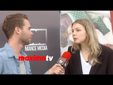 "Hannah Murray ""Social Media Is Kind Of Lame and Narcissistic""  Exclusive!"