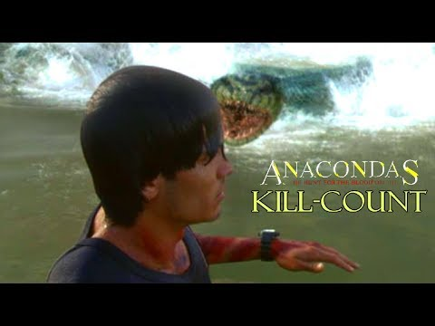 Anacondas: The Hunt For The Blood Orchid: Kill-Count