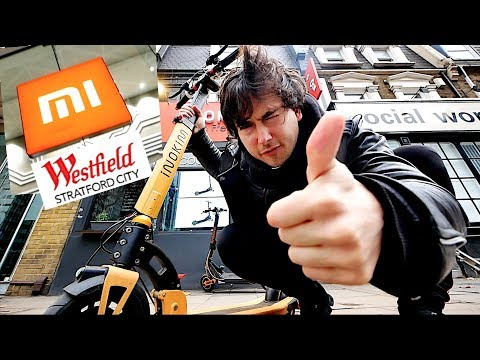 🇬🇧XIAOMI MI STORE LONDON & INOKIM LIGHT 2 ELECTRIC SCOOTER