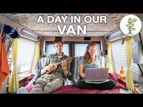 A Day in the Life: Travelling, Working & Living in a Van - Van Life Vlog