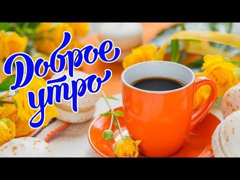 С Добрым Утром ! Доброго Утра и Хорошего Дня! Красивое Пожелание С Добрым Утром ! Видео открытка