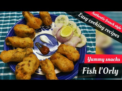 How To Make Fishl'Orly | Fish Orly Recipe In Master Chef Style | Simple Recipe | Aspirationsp