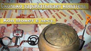Сколько зарабатывает копатель. Коп монет.