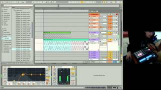 Ableton Live 9 Beginner Tutorial 05 - Introduction to EQ8, Compression & Sidechain-Compression