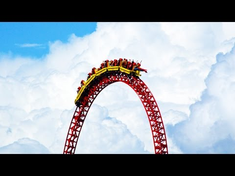 WORLD'S HIGHEST ROLLER COASTER! (Planet Coaster #2)