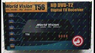 Відео огляд налаштування World Vision Т56