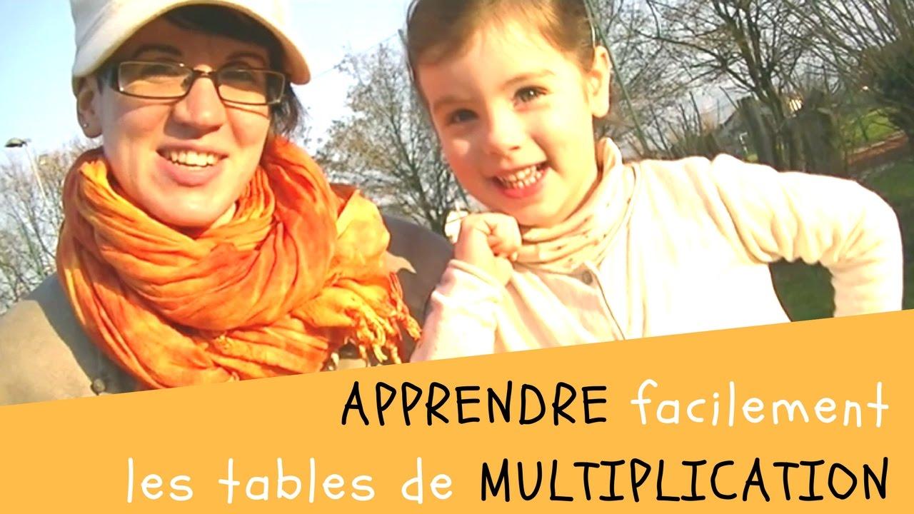 Apprendre les tables de multiplication les doigts dans le - Apprendre c est table de multiplication ...