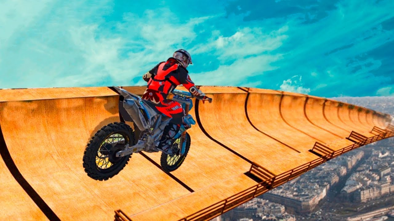 Impossible Bike Ride Extreme Stunts Master 2019 3d