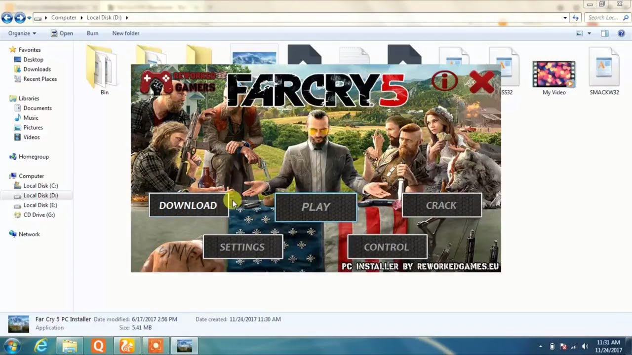 download far cry 5 setup for pc
