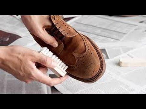 Tips Membersihkan Sepatu Suede - YouTube f601da997a