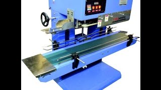 heavy duty continuous band sealer for upto 25kg bags, bag closing machine