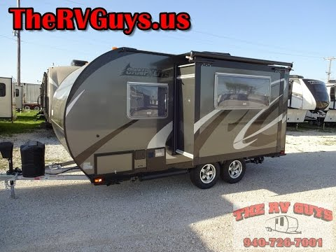 Go Far Away With This Super Lite Easy To Tow Travel Trailer - 2016 Camp Lite 16DBS