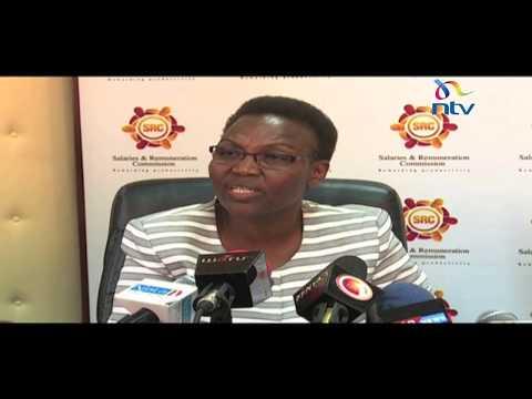 SRC salary shocker receives support from President Uhuru Kenyatta
