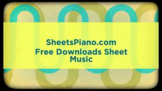 Maroon 5 -  ft. Wiz Khalifa - Payphone Piano Sheet Music Download Free