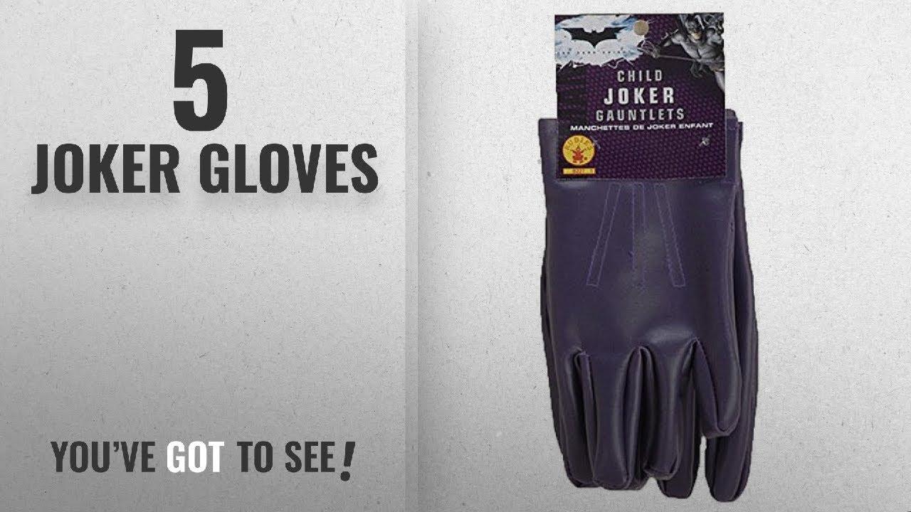 e31ba0501d2fb Top 10 Joker Gloves [2018]: Batman The Dark Knight Child Joker Gloves