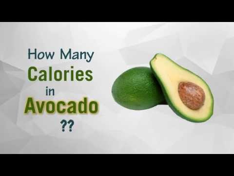 Healthwise: How Many Calories in Avocado? Diet Calories, Calories Intake and Healthy Weight Loss