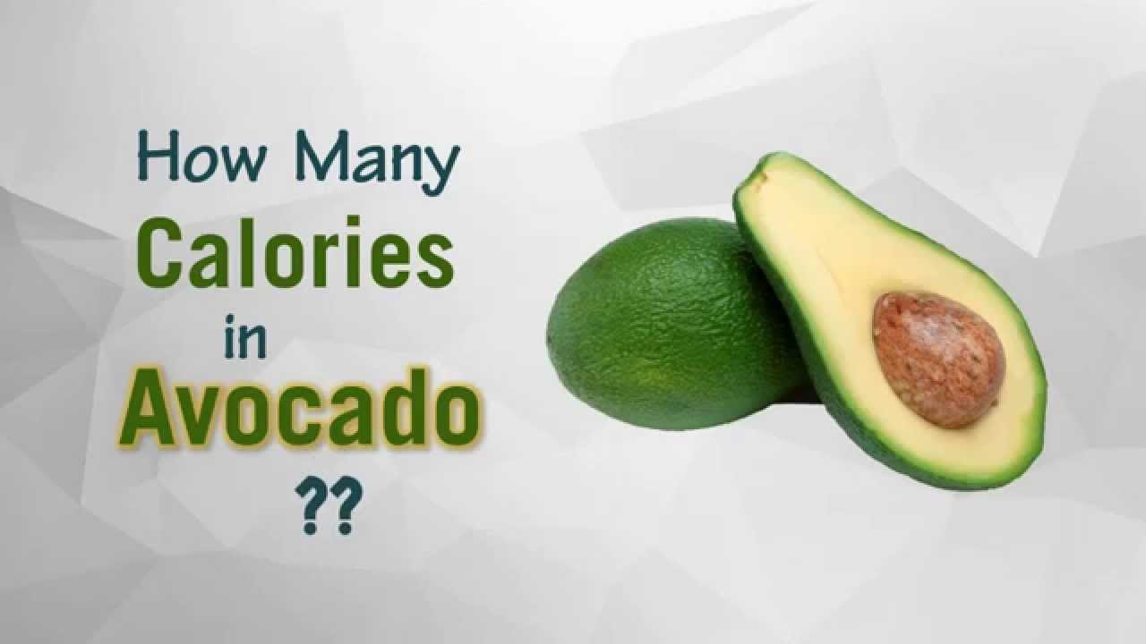 Healthwise: How Many Calories In Avocado? Diet Calories