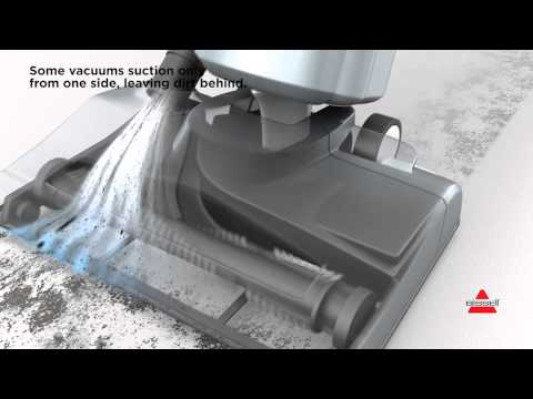 Suction Channel Technology - BISSELL® PowerGlide® Pet Vacuum With SuctionChannel Technology™ 1305