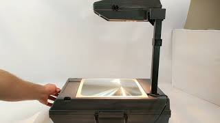 3M 2000 AG Overhead Projector Portable Briefcase @ Pinehog