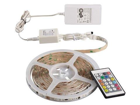 Livarno LUX 5m LED Band (mit 166 Effekte) // Unboxing und ...