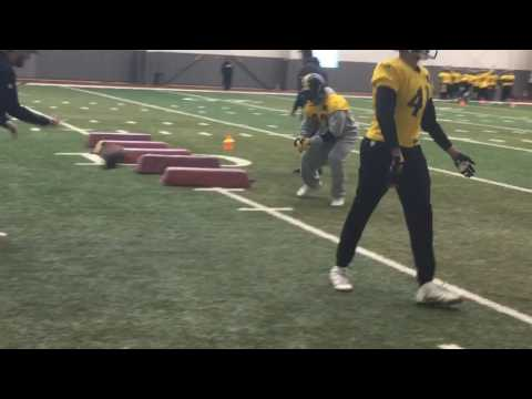 Pittsburgh Steelers practice without Joey Porter