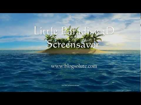 Download Little Paradise 3D Free Screensaver for Windows 7